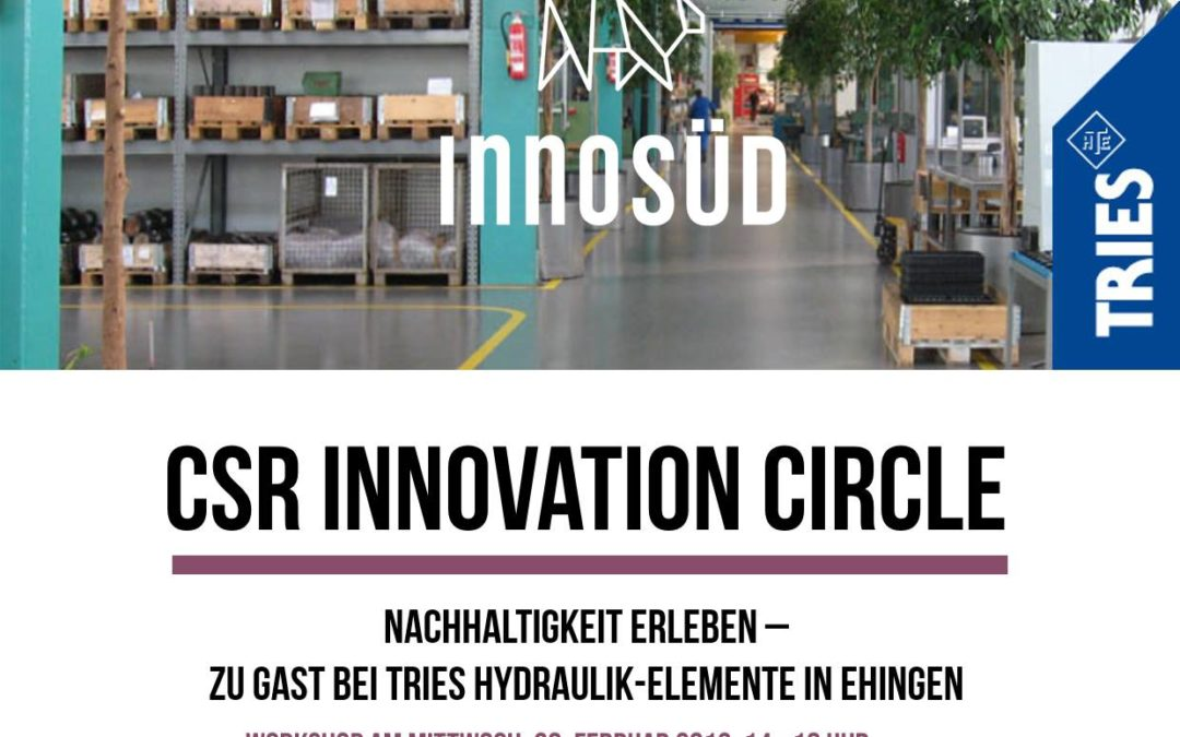 Einladung: 2. Workshop des CSR Innovation Circle, 20. Februar 2019