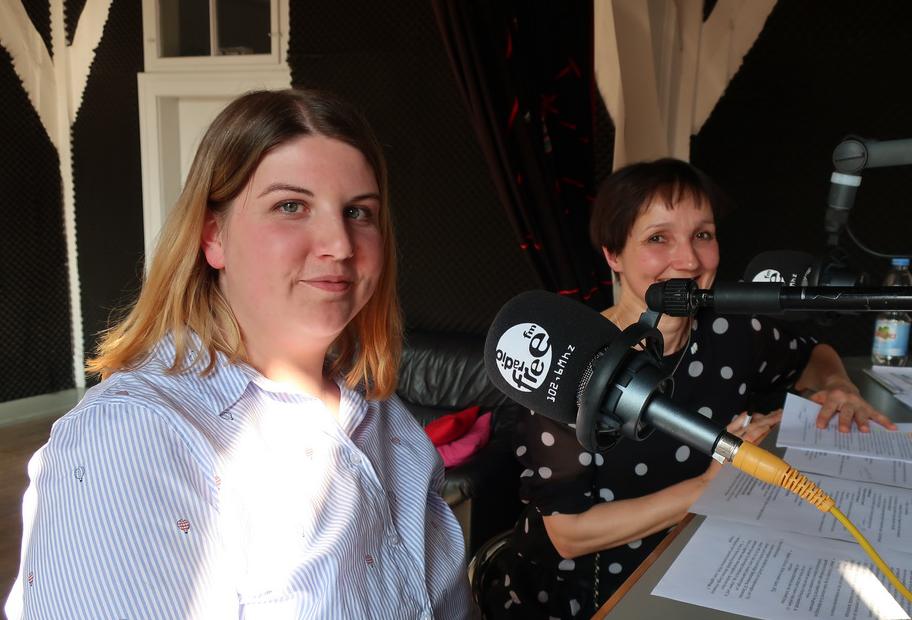 InnoSÜD zu Gast bei Radio free FM