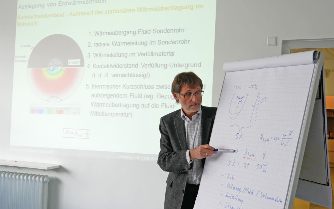 Prof. Dr. Roland Koenigsdorff (HBC) beim Vortragen.