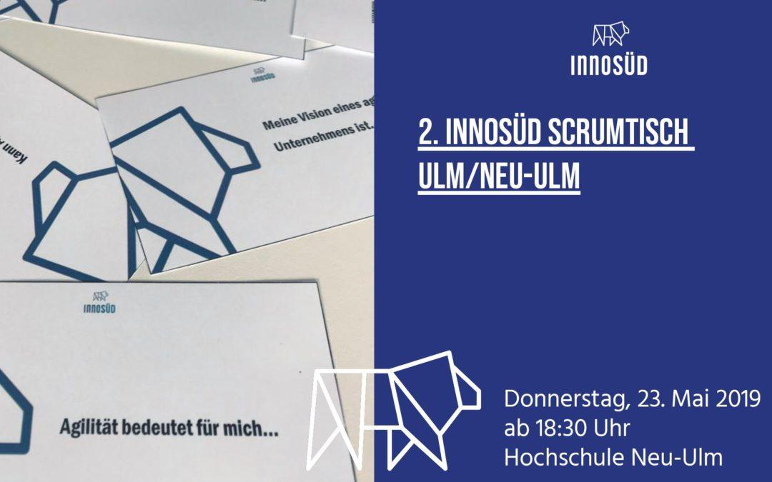 2. InnoSÜD-Scrumtisch am 23. Mai mit Impulsvortrag zu Design Thinking