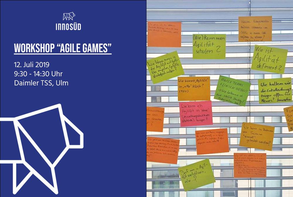 """Workshop """"Agile Games"""", 12. Juli 2019"""
