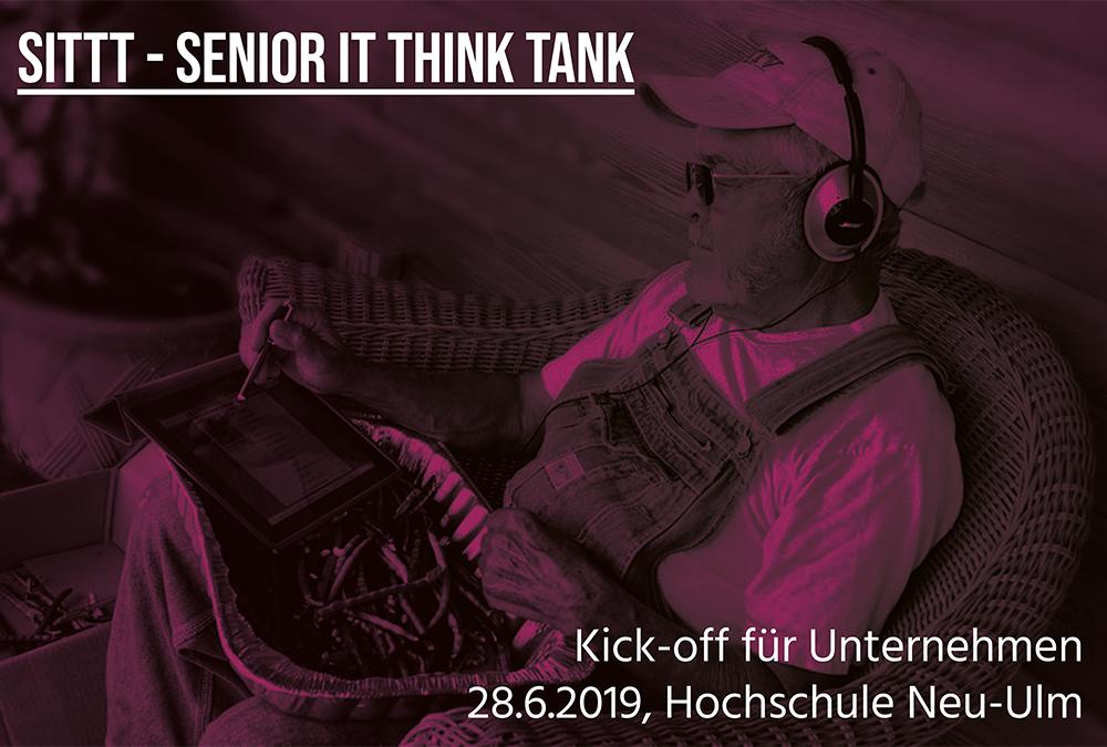 """Kick-Off zum Innovationszirkel """"Senior IT Think Tank – Digitale Lösungen für Seniorinnen und Senioren"""" am 28. Juni 2019, 14:30 – 18:00 Uhr"""