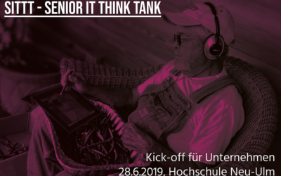"Kick-Off zum Innovationszirkel ""Senior IT Think Tank – Digitale Lösungen für Seniorinnen und Senioren"" am 28. Juni 2019, 14:30 – 18:00 Uhr"