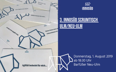 3. InnoSÜD-ScrumTisch am 1. August