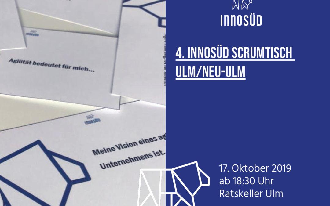 Einladung: 4. InnoSÜD-ScrumTisch am 17. Oktober 2019