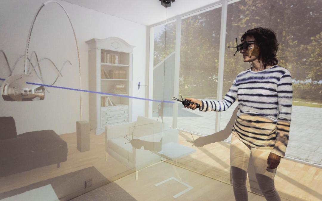 Mi., 4.12.2019: Virtual Reality-Umgebungen erleben in der VR CAVE