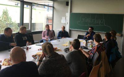 "9. Januar 2020: 4. Gründer*innen-Lunch an der Uni Ulm zum Thema ""Teambuilding 4.0"""