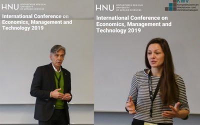 Sales Lab: Prototyp für virtuelle Verhandlungen bei der IEMT-Konferenz
