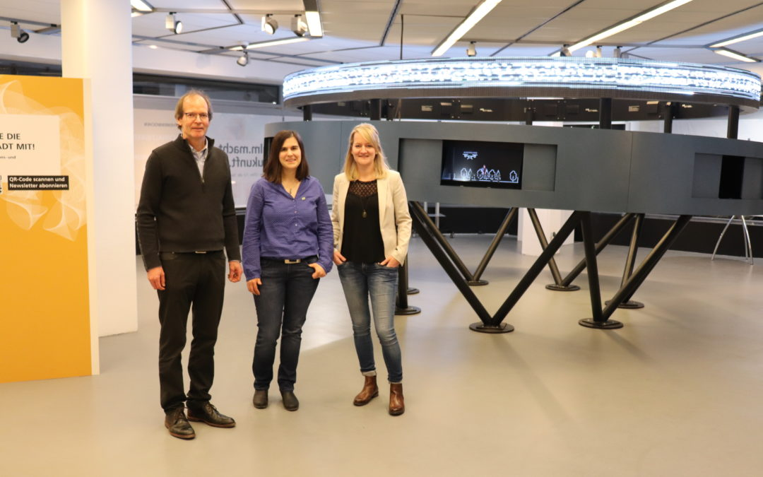 Rückblick | Wissenschaft in der Innenstadt: InnoSÜD zu Gast im Ausstellungsraum m25 am Ulmer Münsterplatz