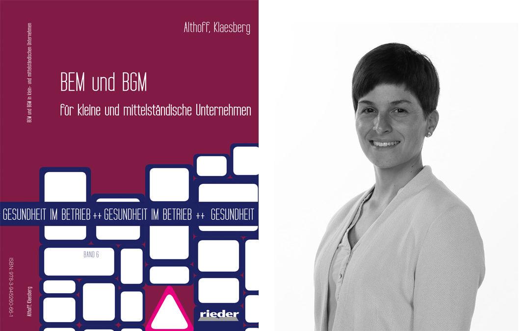 InnoSÜD-Teilprojekt liefert Beitrag zu Fachbuch über Betriebliches Gesundheitsmanagement