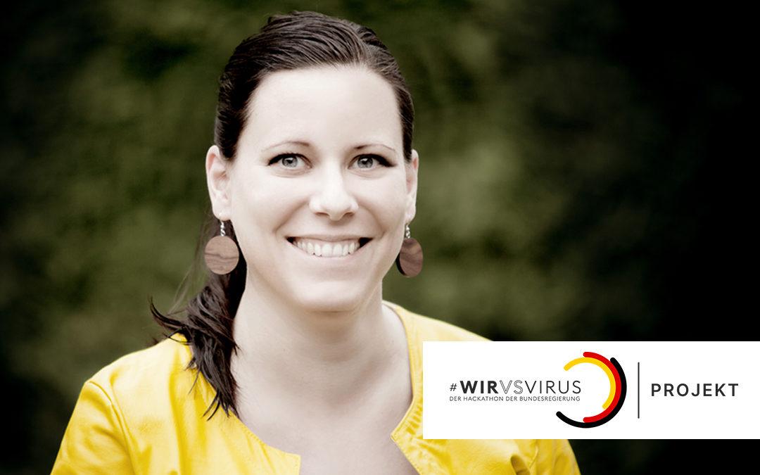 Größter Hackathon der Welt für Ideen in der Corona-Krise – Ausgründungsmentorin Dr. Birgit Stelzer war dabei
