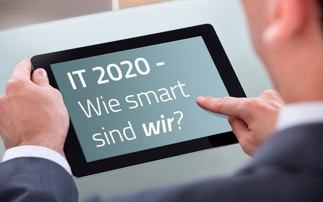 "Call for Presentations: IT Kongress ""IT 2020 – wie smart sind wir?"""
