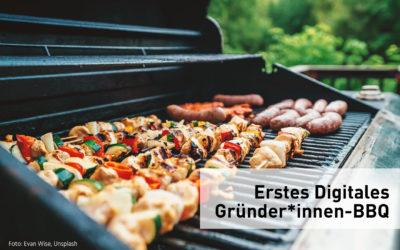 26. Mai 2020, 18:00 Uhr: Erstes digitales Gründer*innen-BBQ mit Best Practice-Impulsen und Austausch