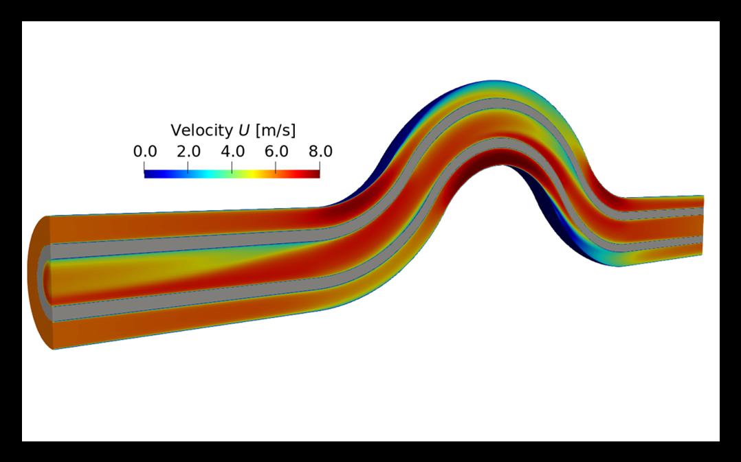 Tutorial 3 – Gegenstrom Wärmeübertragung- chtMultiRegionFoam