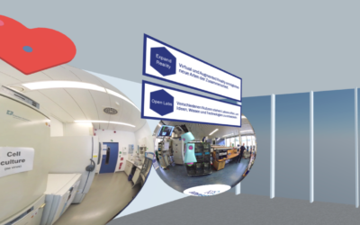 Rückblick: Virtuelle Ausstellung zu InnoSÜD-Transferformaten in den Mozilla Hubs