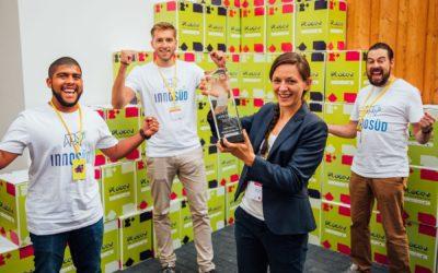 """InnoSÜD-Teilprojekt """"Sales Lab"""" der Hochschule Neu-Ulm (HNU) gewinnt Virtual Reality-Preis für virtuelles Verhandlungstraining"""