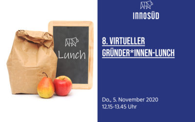 """5. November 2020: 8. Gründer*innen-Lunch zum Thema """"Diversität – Wie können Start-ups von Vielfalt profitieren?"""""""