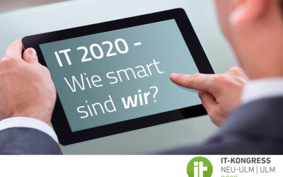 12. November 2020: IT-Kongress Neu-Ulm | Ulm mit InnoSÜD-Track und virtuellem Networking
