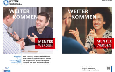 Förderverein der Technischen Hochschule Ulm öffnet Mentoringprogramm für Studierende im gesamten InnoSÜD-Verbund