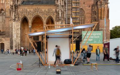 """Startup """"Qube"""" aus dem InnoSÜD-Verbund: Mobile Bühne und Eventplanungs-App für mehr Kultur in der Stadt"""