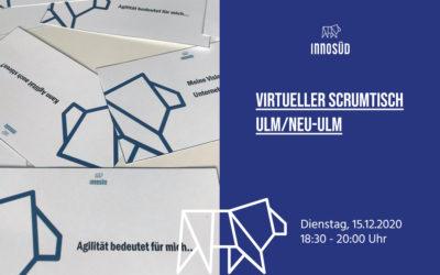 ScrumTisch: Vorweihnachtlicher virtueller Stammtisch zu Themen rund um das agile Arbeiten, 15. Dezember 2020