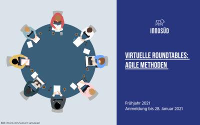 Austausch rund um agiles Arbeiten und SCRUM: Virtuelle Roundtables im Frühjahr 2021 | Anmeldung bis 28. Januar 2021