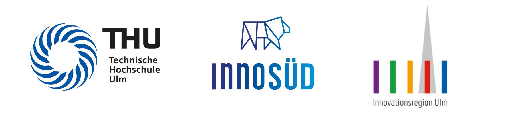 Logos THU, InnoSÜD, Innovationsregion
