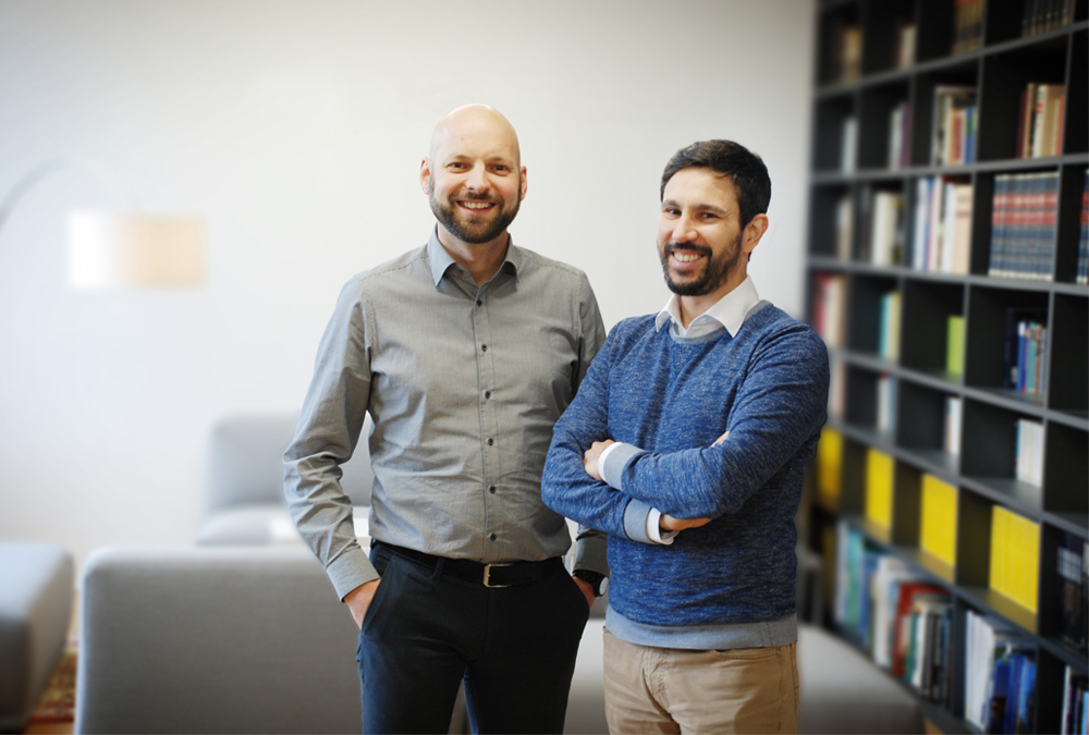 phinc- Gründer Bernhard Wieland und Manuel Feuchter. Bild: phinc
