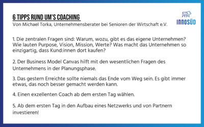 """Rückblick: 13. Gründer:innen-Lunch zum Thema """"Das richtige Coaching für Dein Start-up!"""""""