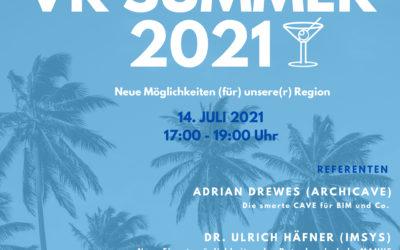 14. Juli 2021: VR Summer – Online-Event zu neuen Anwendungsideen für Extended Reality mit Studienvorstellung