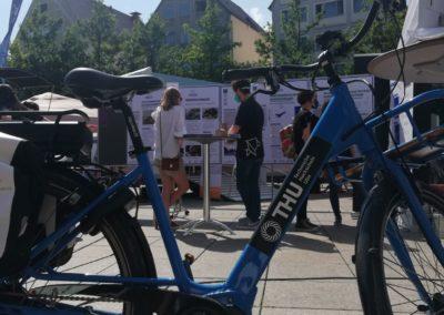 InnoSÜD-Transformator Jannik Maier informierte über das Themenfeld Mobilität. Bildquelle: InnoSÜD/ D.Barsch