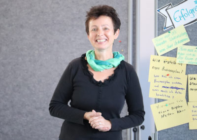 Unternehmensberaterin Hildegard Kuch-Kuthe referiert